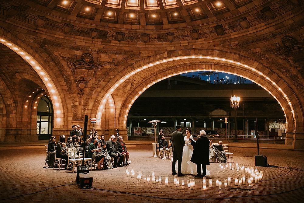 Union Station in Pittsburgh wedding