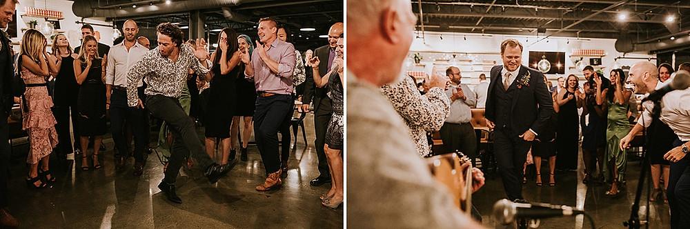 Cinderlands wedding reception Pittsburgh PA