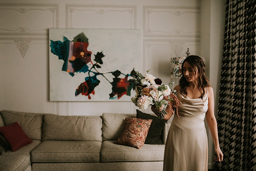 The Farmer's Daughter florals Pittsburgh wedding