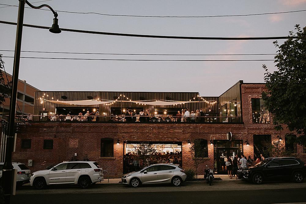 Cinderlands Warehouse Wedding Pittsburgh
