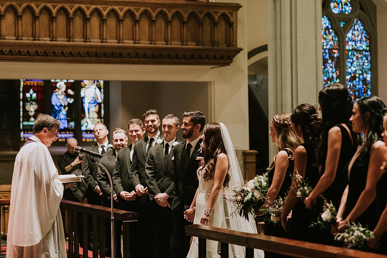 Church wedding in Pittsburgh