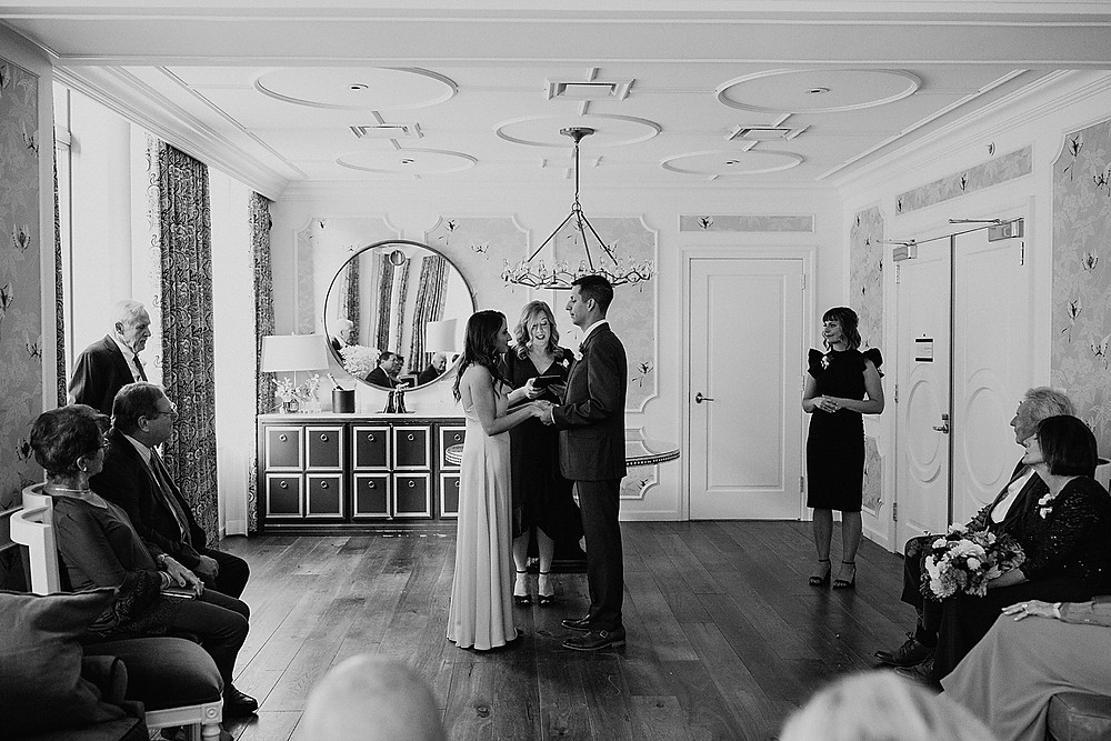 Hotel Monaco wedding ceremony