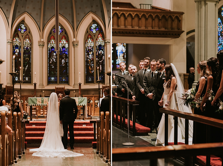 Pittsburgh church wedding
