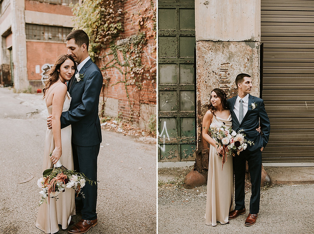Strip District Wedding Portraits