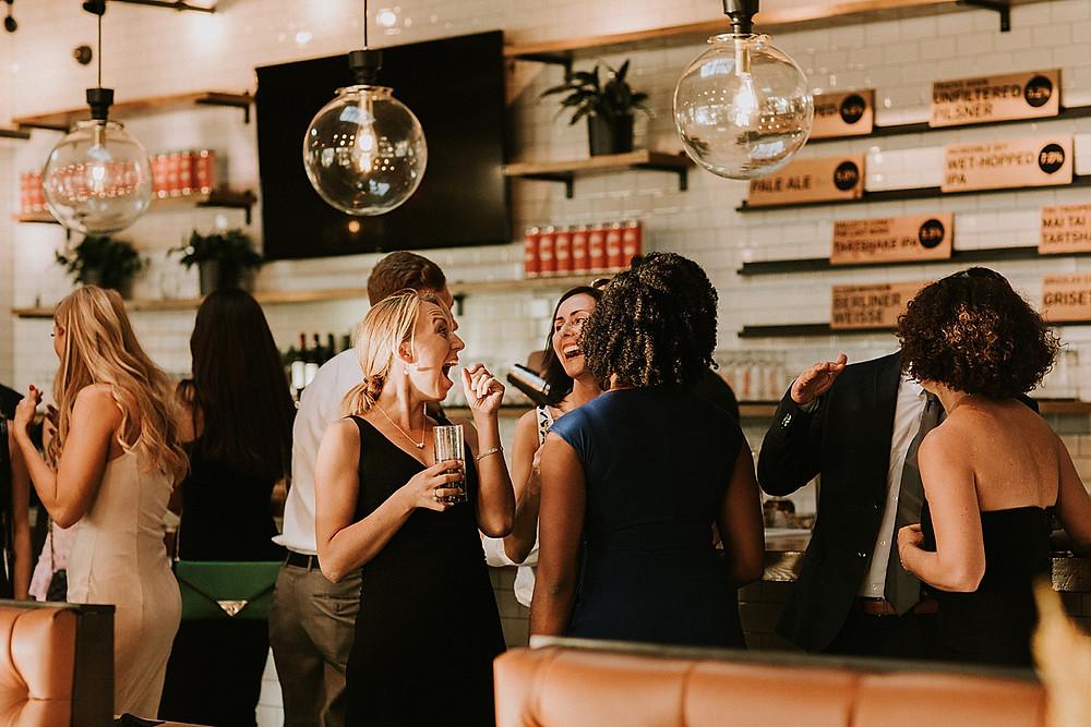 Cocktail hour at Cinderlands