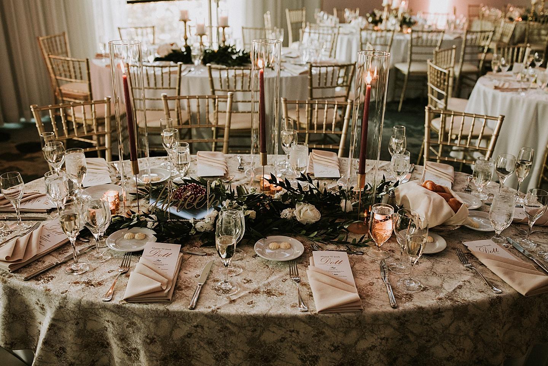 The Renaissance Pittsburgh wedding reception