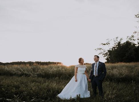 brennan & emily married @ bramblewood