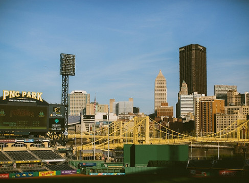 Kelly & Mark, PNC Park Engagement