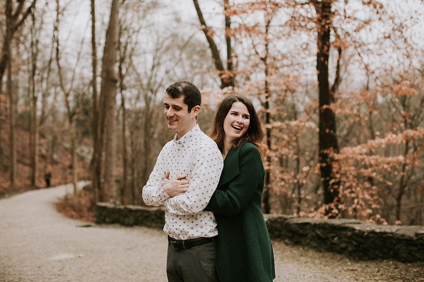 Fall engagement session in Pittsburgh
