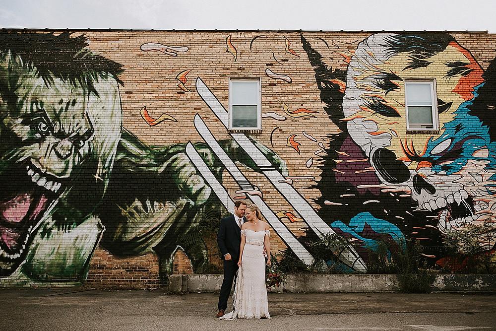 Jeremy Raymer hulk mural Pittsburgh, PA