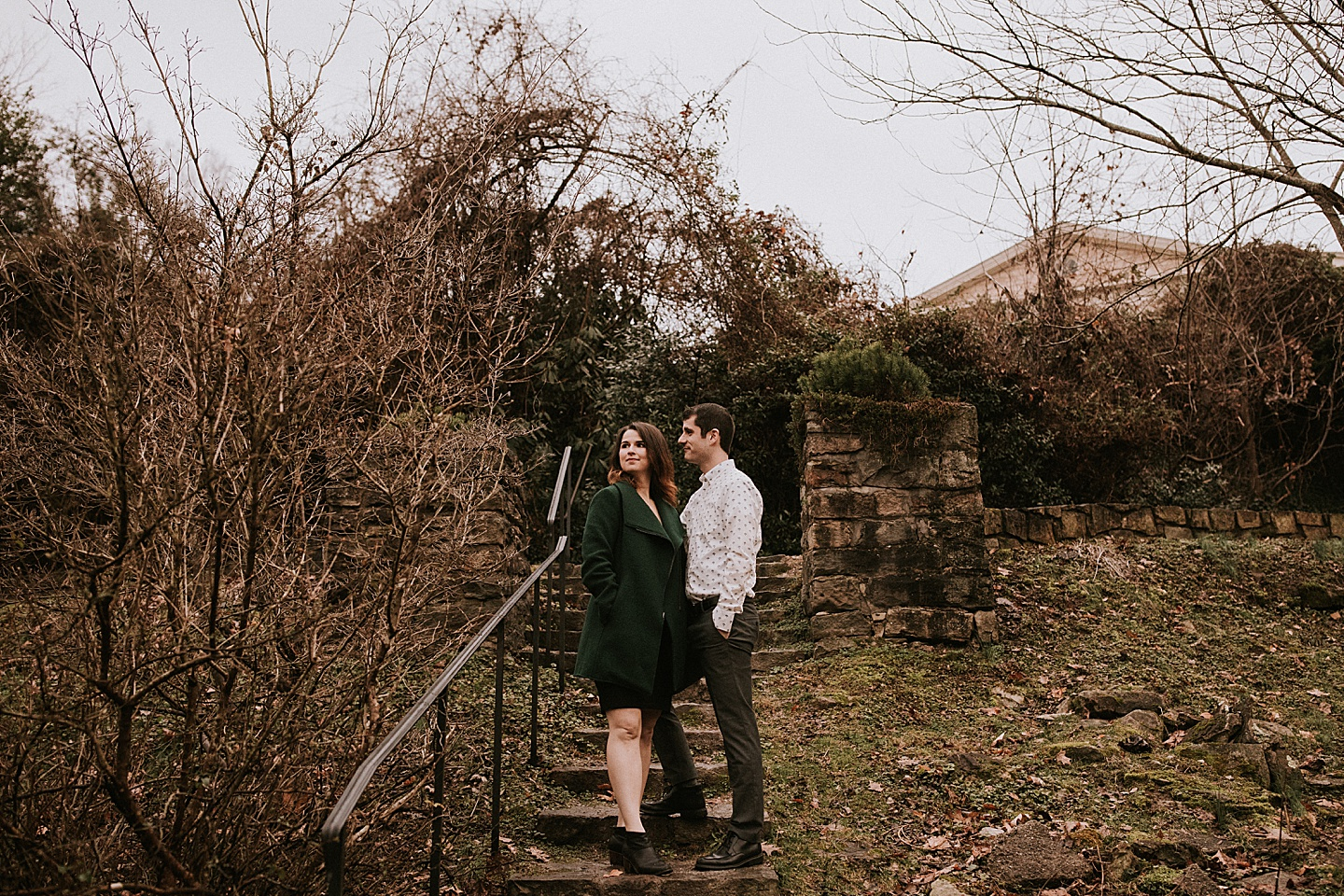 Engagement session in Pittsburgh