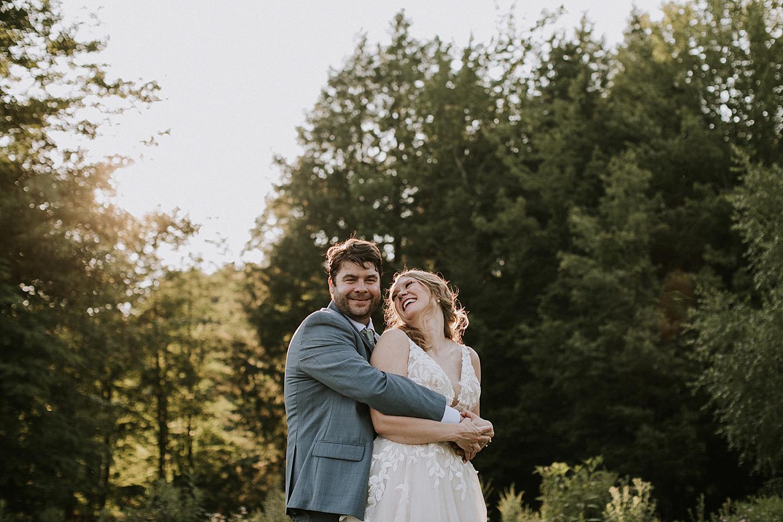 Wedding portraits in your backyard
