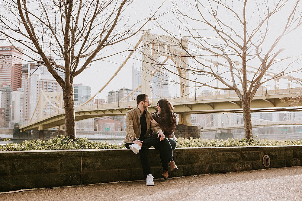 Pittsburgh, PA engagement photos