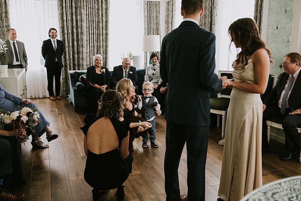 Kids in wedding ceremonies