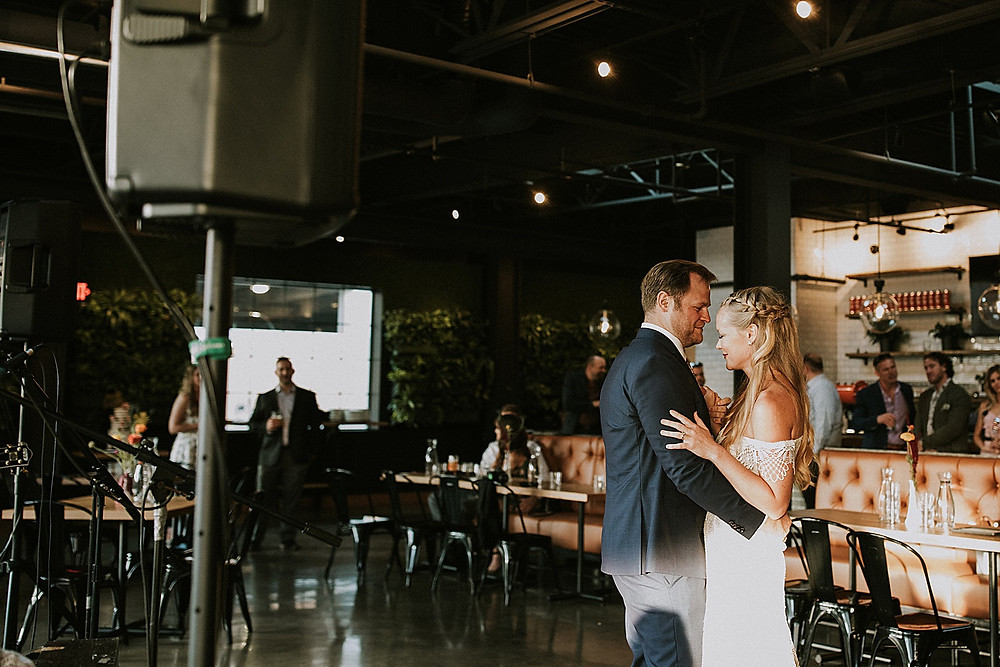 Wedding reception at Cinderlands in Pittsburgh, PA