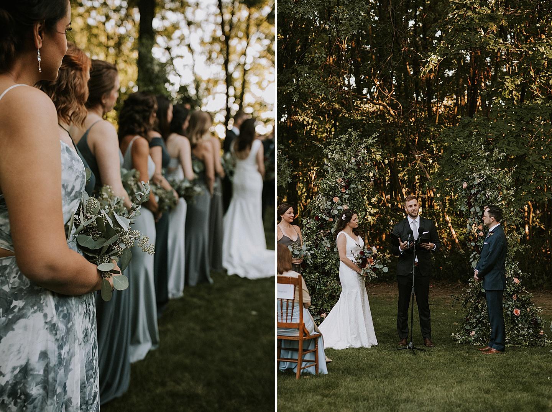Pittsburgh backyard wedding