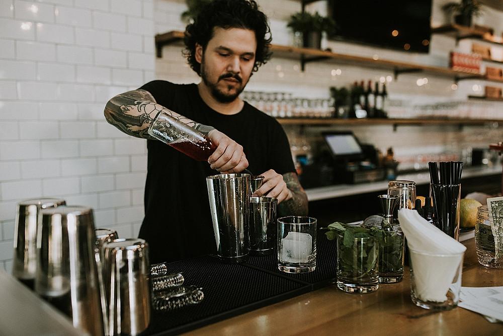Bartender at Cinderlands