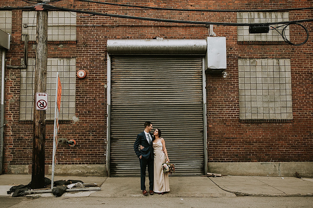 Urban wedding photos in Pittsburgh