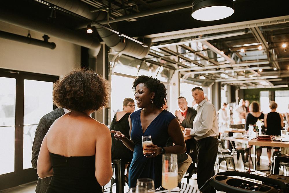 Cocktail hour Cinderlands Pittsburgh