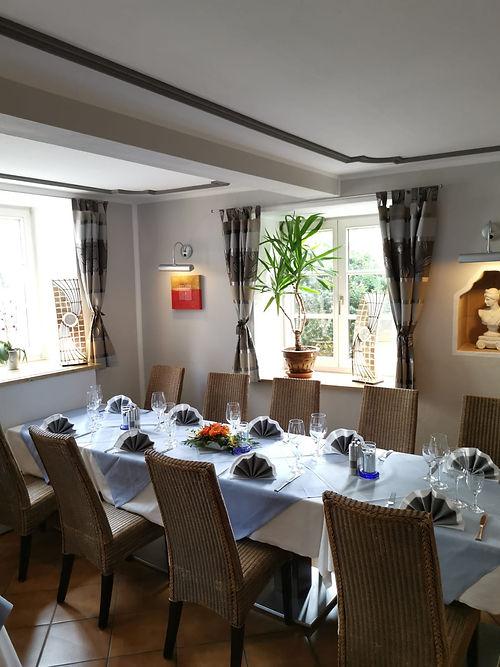 Feier und Events Tisch