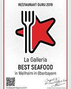Auszeichnung für das beste Seafood in Weilheim
