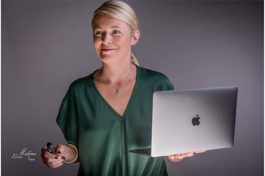 Portraits corporate Karine Medina Photog