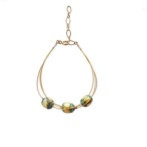 Earth's Circle Bracelet