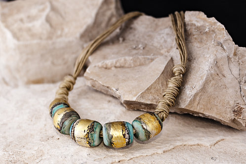 Earth Statement Necklace