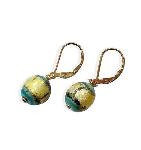 Earth Short Earrings