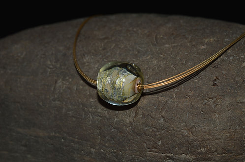 Glassy Earth Necklace