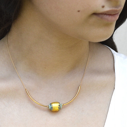 Round Earth Arches Necklace