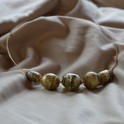 Space Texture Necklace