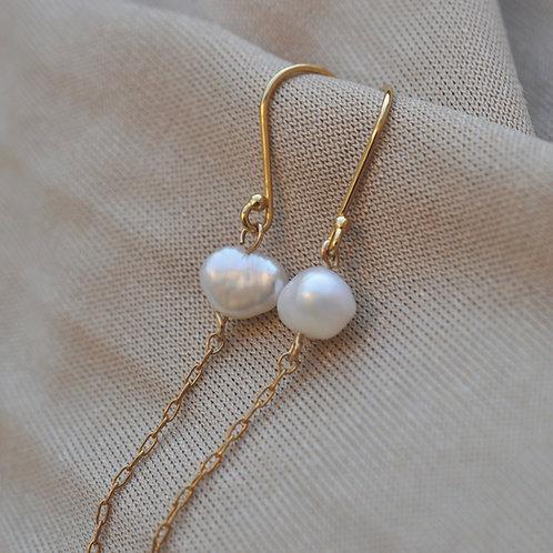 Olive Long Earrings