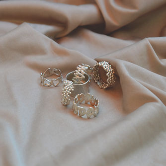 silver sterling rings by anat eyal