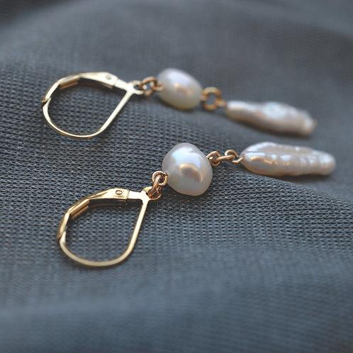 Willow Leverback Earrings