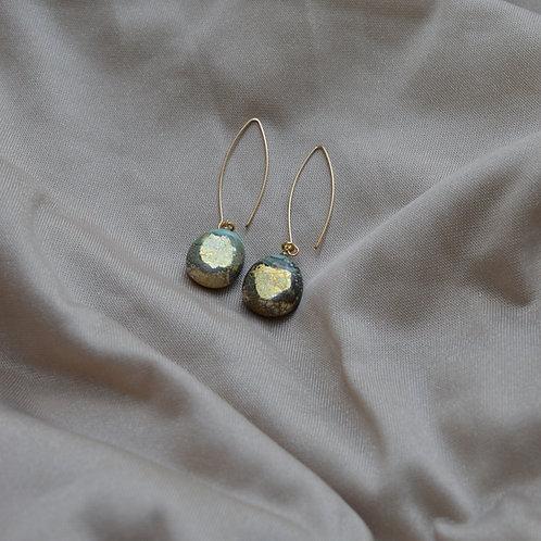 Flat Drop Earrings