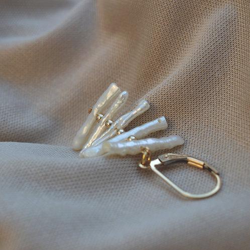 Palm Leverback Earrings