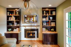 Zero clearance fireplace