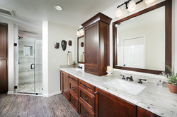 Vanity Counter Wall Cabinet