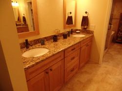 Double vanity area