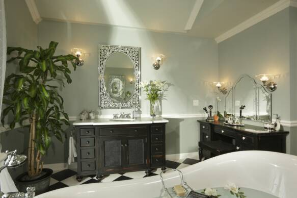 French country vanity