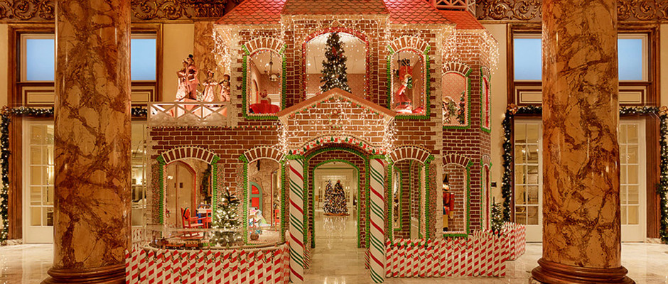 7 of the Craziest Gingerbread Houses