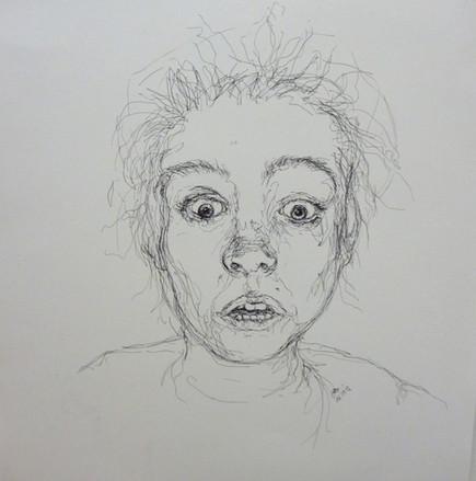 Selbstportrait mit Steckdose (2013)