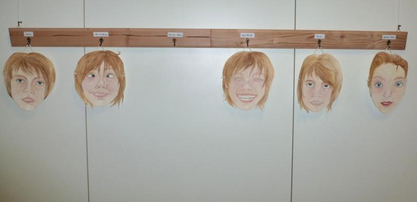 Meine Masken (Installation, 2015)