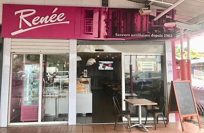 Guadeloupe Restaurant Renée Centre commercial Desmarais Basse-Terre