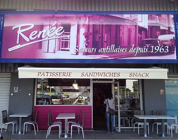 Restaurant Guadeloupe Renée Voie Verte de Jarry à Baie-Mahault en Guadeloupe