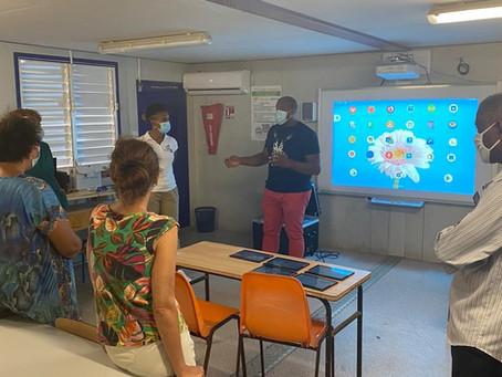 Le numérique éducatif au service de la collectivité du Marin