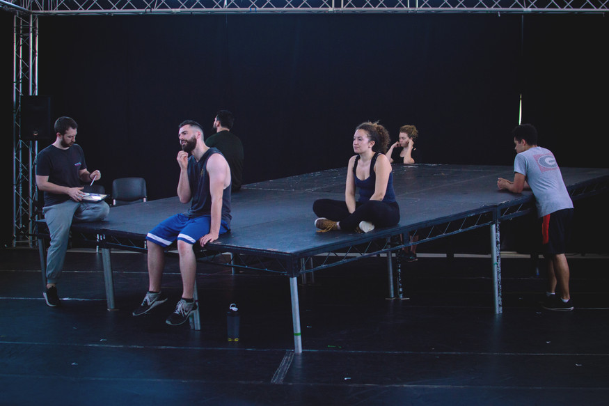 How Not to Drown Rehearsals