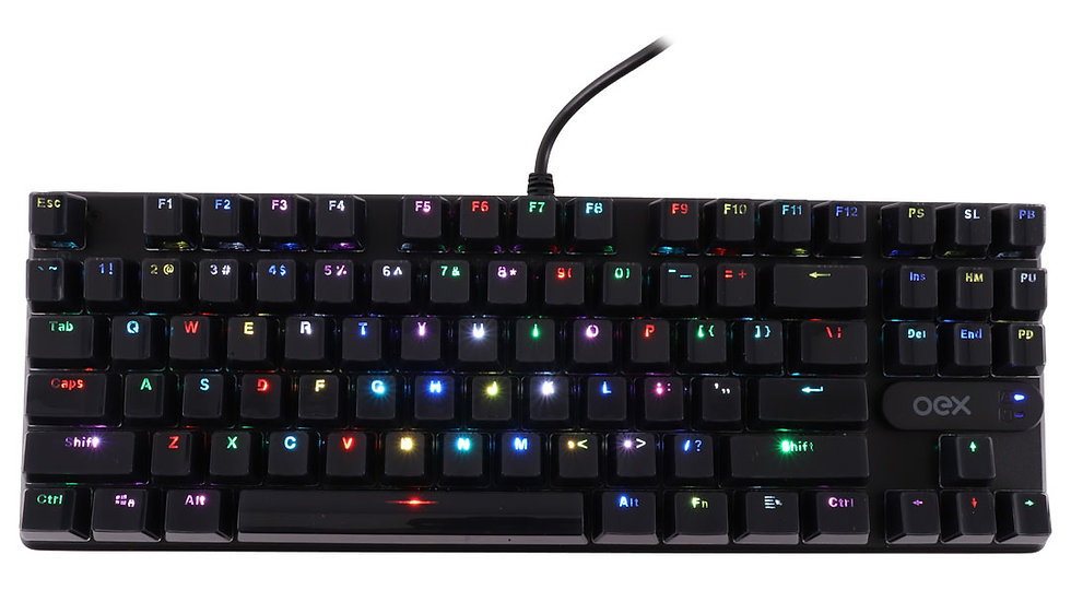 TECLADO GAMER OEX PHANTOM TC 700