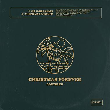 Southlen Christmas Forever Album Cover Art